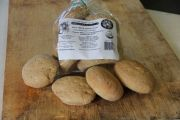 Millet and Sweet Brown Rice Hamburger Buns