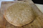Millet and Brown Rice Pizza Crust